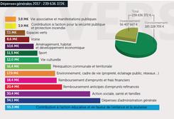 Budget 2017 : dépenses générales
