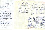 Lettres de remerciement adressées à la municipalité par les salariés de la société Metallo. © Ibid.664