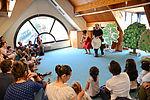 Heure du conte, Livr'échange, le temps des histoires.... la bibliothèque, c'est une multitude de rendez-vous réguliers pour tous les âges. © Sylvain Lefeuvre