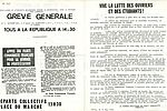 Tract du Parti Communiste Français appelant à la grève générale du 13 mai. © Service Archives-Documentation, NC665
