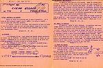 Le journal de Saint-Georges de Didonne en 1967 envoyé à Jean Collet, maire adjoint à la culture, en charge des vacances. NC 777