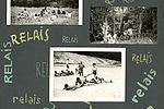 Jeux de relais à Saint-Rémy-sur-Durolle en 1966. NC albums photos