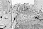 L'Avenue Roger Derry en chantier © Archives municipales