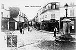 La fontaine rue d'Arnetal (rue de l'Abbé Roger Derry) © Archives municipales