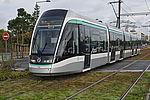 Les travaux du tramway T9 démarrent. Photo d'illustration : le T7