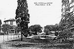 Le bassin, place Dubois © Archives municipales