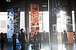 Le hall d'accueil de 350m2, point de rendez-vous, peut aussi être le lieu d'expositions. © Alexadre Bonnemaison