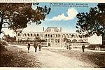 Carte postale représentant la colonie de Cayeux vers 1928. 80Fi2