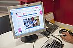 16 postes informatiques vous permettent d'accéder librement à Internet. © Sylvain Lefeuvre