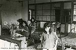 A Saint-Georges de Didonne dans les années 1960, pour le bien-être de tous, le dortoir est régulièrement rangé. 33Fi6-154