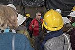 Visite du chantier de la coop Colette, premier habitat participatif à Vitry.