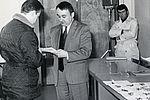 28 février 1969 : remise des clés aux locataires OPH du groupe Barbusse.