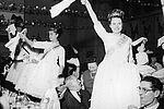 La reine élue pendant les fêtes du Lilas 1966 © Archives municipales