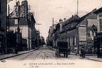 Rue Saint-Aubin autrefois © Archives municipales