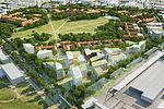 La pointe nord du domaine Cherioux sera aménagée en 2021.