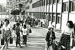 Retour de colonie fin août 1975. 33Fi6-51