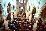 La nef de l'église Saint Germain © DR