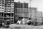 Construction des immeubles de l'avenue Robespierre © Archives municipales