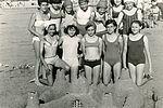 Concours de châteaux de sable sur les plages de Charente Maritime pour les colons de Saint-Georges de Didonne en 1966. . NC, album photos