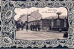 La fontaine de la Barre, rue d'Oncy © Archives municipales