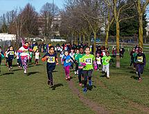 Janvier : cross FSGT au parc des Blondeaux.