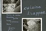 Un menu de camping à Dorat (Auvergne) en 1966 très appétissant ! NC, album photos