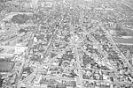 Quartier de la ferme vu du ciel © Archives municipales
