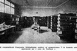 La bibliothèque en 1953 © Archives municipales