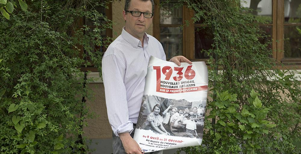 Frédérick Genevée, président de l'association pour l'histoire vivante.