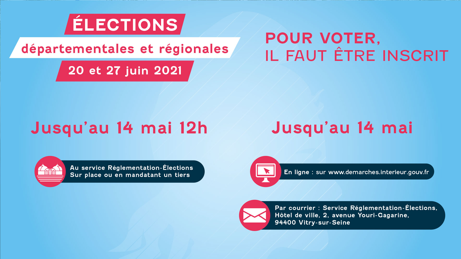 Elections Regionales Et Departementales Mairie De Vitry Sur Seine Site Officiel